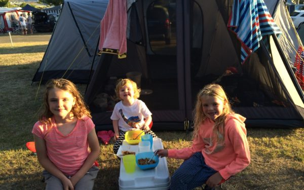 Camping holidays with her family are one of Lilly Walkenhorst's favourite things