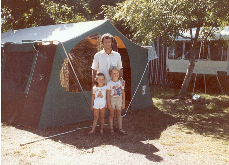 Liz Gregory would never consider staying at Tahuna Beach Holiday Park in anything other than a tent